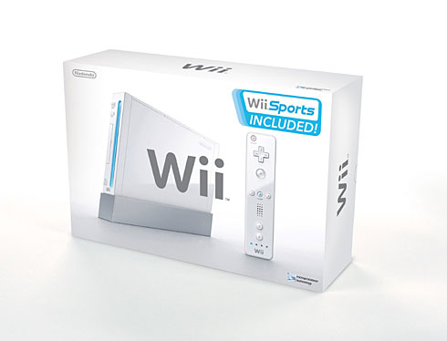 Official Wii Packaging