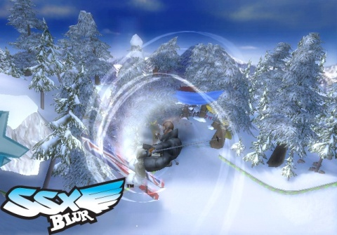 SSX Blur Screens