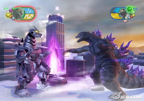 Godzilla Rampages on Wii