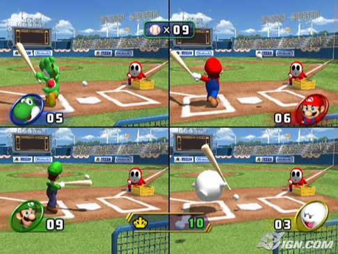 Mario Party 8 Screens