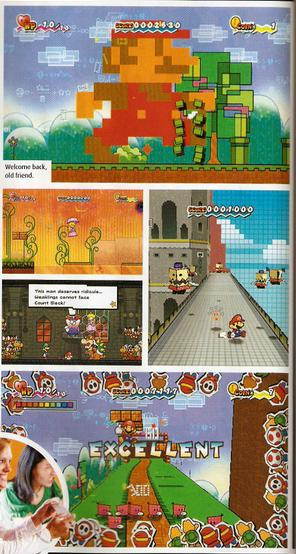 First Super Paper Mario Wii Screens
