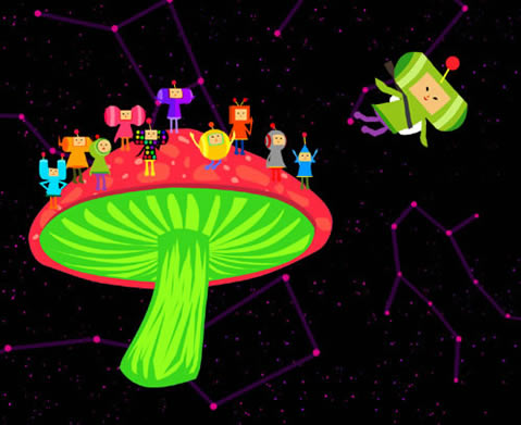 Katamari-like Game to DS