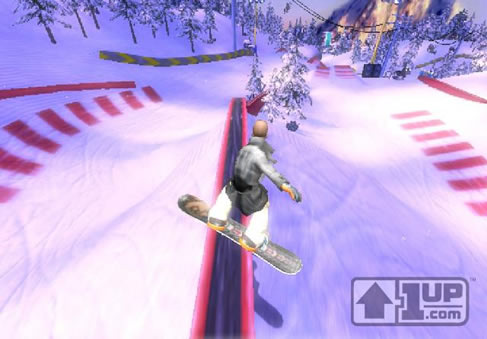 More SSX Blur Screenshots