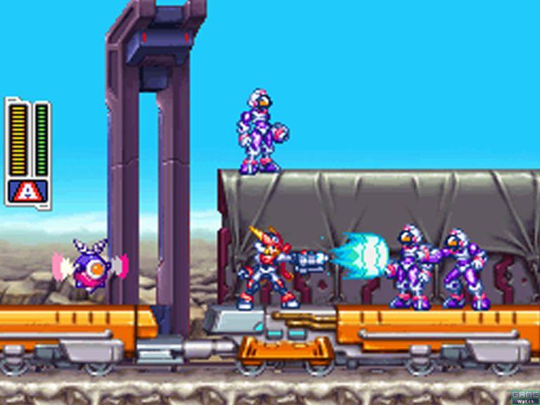 Megaman ZX Advent Screens