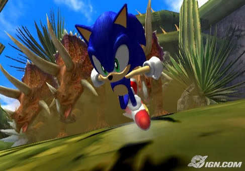 New Sonic Screens