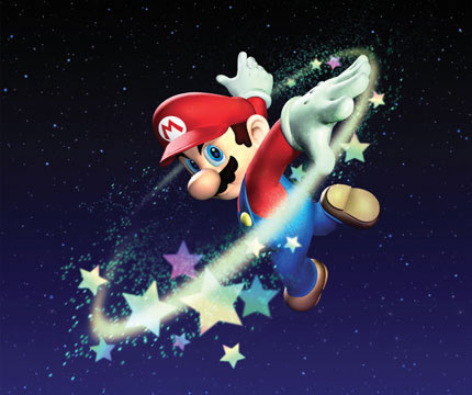Voice of Mario Talks Galaxy!