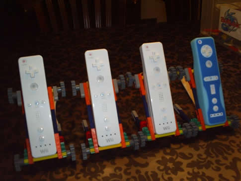 Cool K'Nex Wiimote Cradles