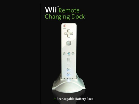 Cool Wiimote Charging Station