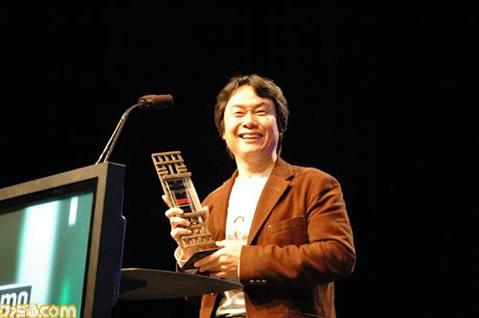 GDC07: Nintendo, Miyamoto Receive Awards