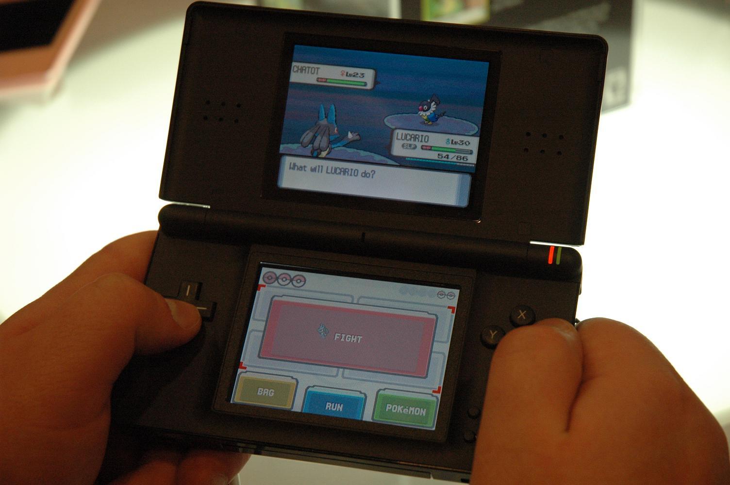 GDC07: Pokemon Diamond/Pearl