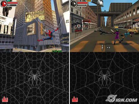 Spiderman 3 DS Details