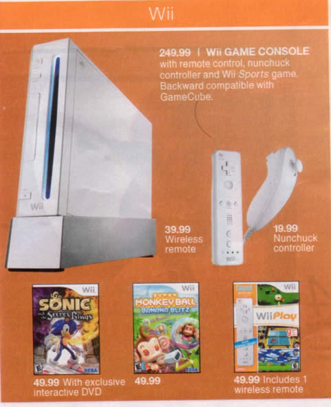 Wii's at Target this Sunday