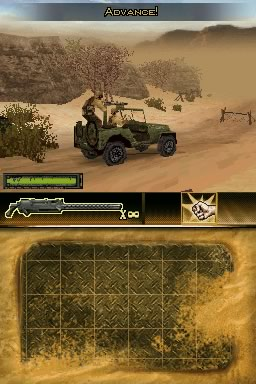 Brothers in Arms DS Screens