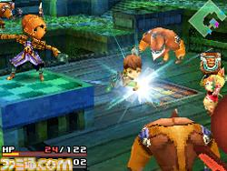Final Fantasy Crystal Chronicles: Ring of Fates Screens