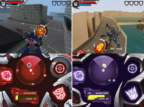 Transformers DS preview