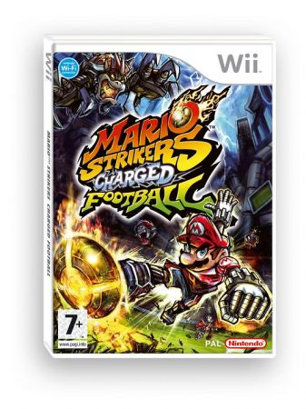 Mario Strikers Charged European Boxart