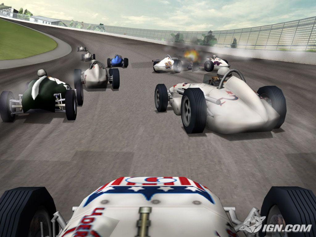 Indy 500 Legends: boxart