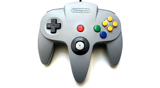 Nintendo holds two of the Top five controllers of all time