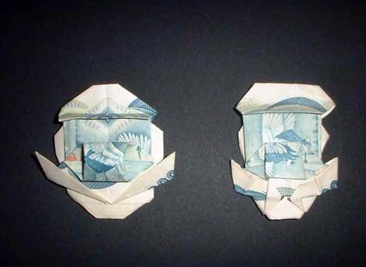 Origami Mario and Luigi