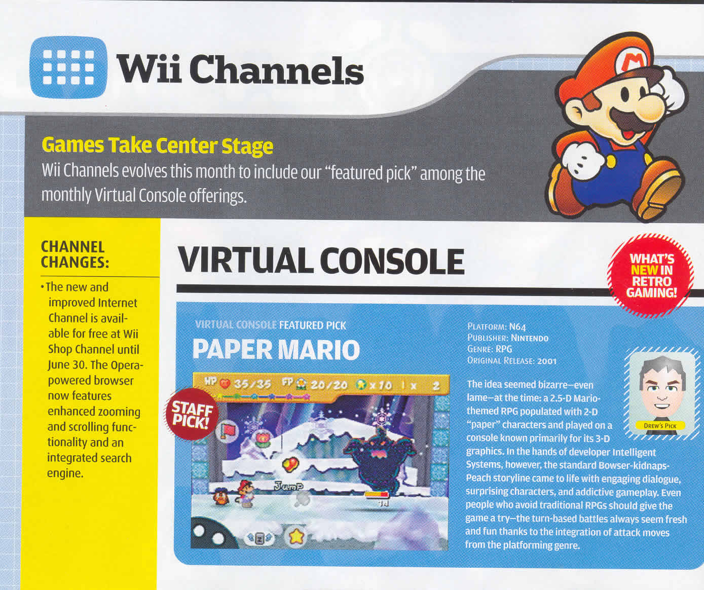 Paper Mario (N64) Coming to the VC!!