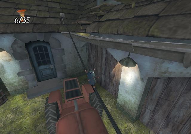Ratatouille Wii Screens