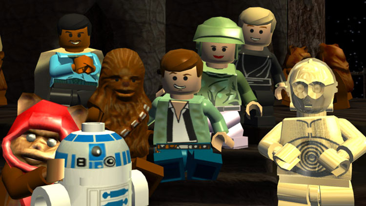LEGO Star Wars: The Complete Saga Screens