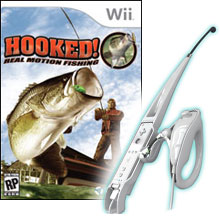 Wiimote fishing attachment