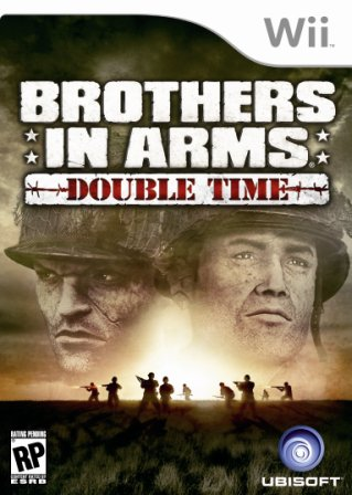 Possible Brothers In Arms Wii boxart