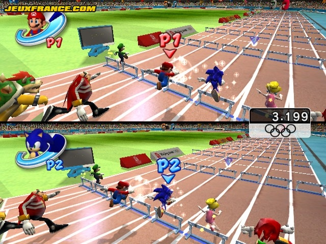 Mario and Sonic at the Olympic Games Screens