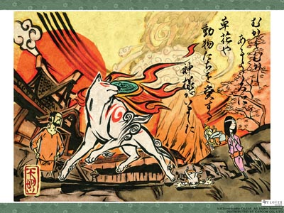 Confirmed: Okami Coming to Wii