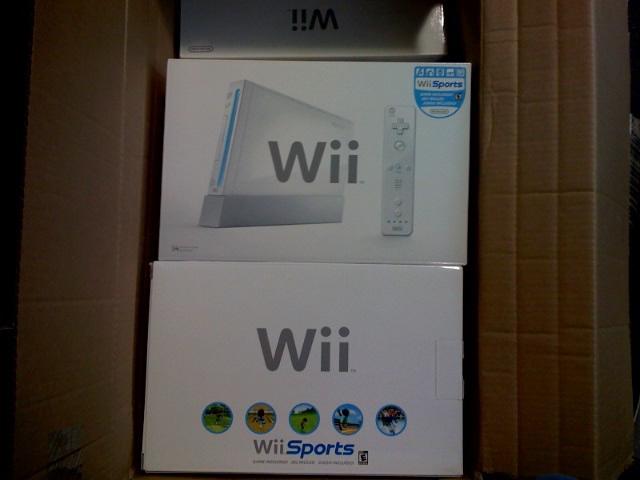 New Wii SKU Box Caught on Camera!