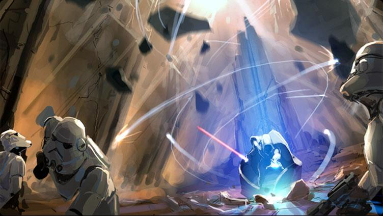 Star Wars The Force Unleashed: Artwork