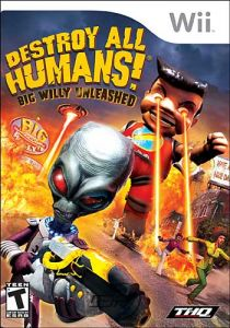 BoxArt: Destroy All Humans Big Willy Unleashed