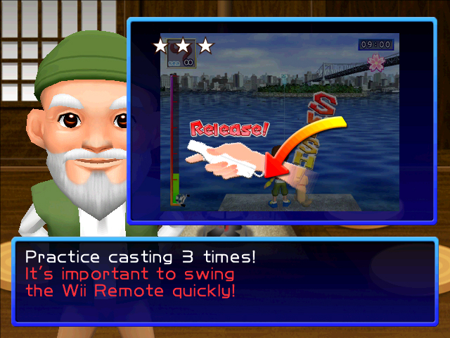 Fishing Master: Screens