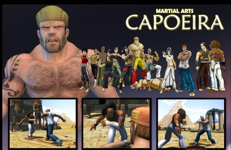 Martial Arts: Capoeira: Twelve Interactive's new multi-platform title signed worldwide by Graffiti Entertainment
