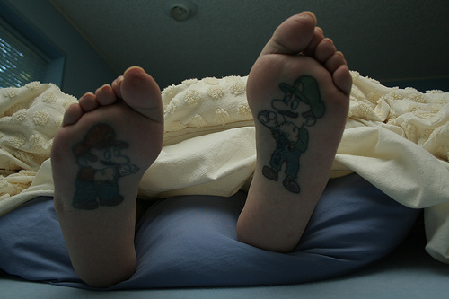 Weird Mario Fact · Origami Mario and Luigi · A Very Large Nintendo Tattoo