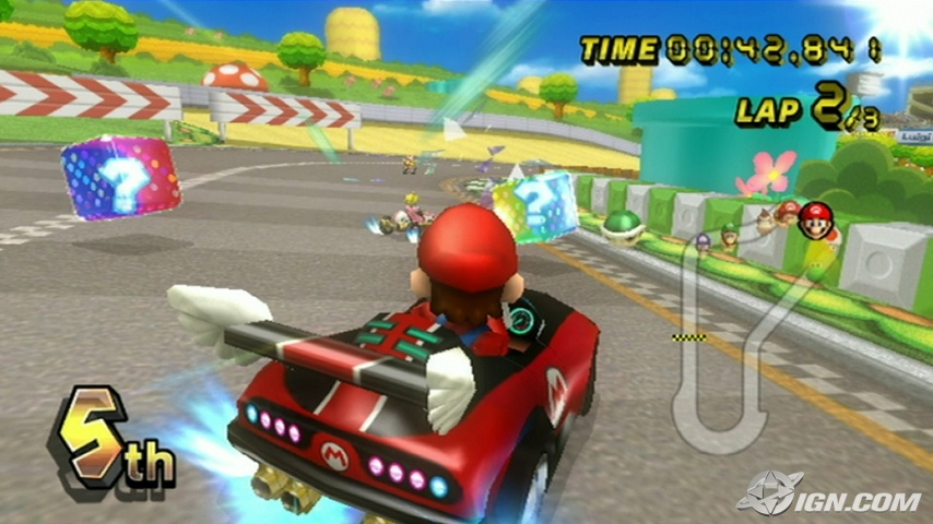 Juegos Mario Kart Wii Mario Kart Wii Screens