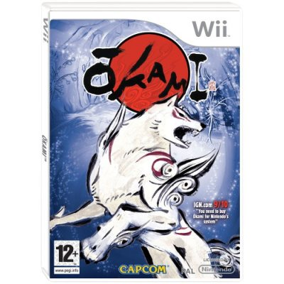 European Okami Boxart Shows Off How It Is Supposed To Look With Out An IGN Watermark