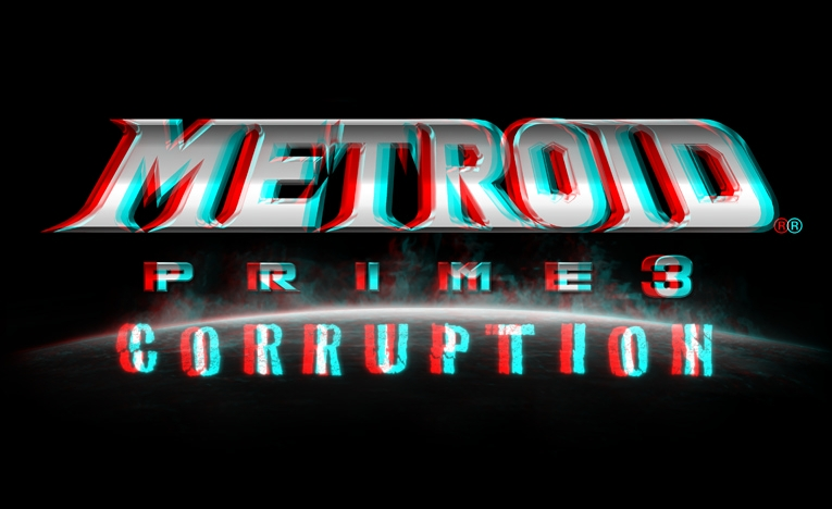 Metroid in 3D – You need the Red/Blue Glasses