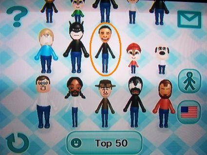 Barack Obama Top 50 Mii