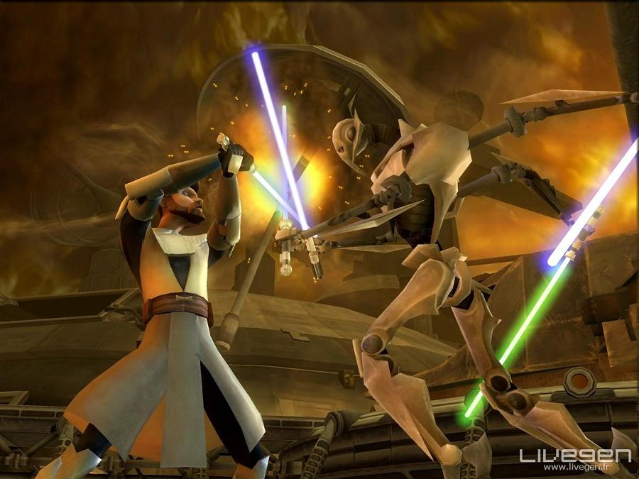One New Star Wars The Clone Wars: Lightsaber Duels Screen