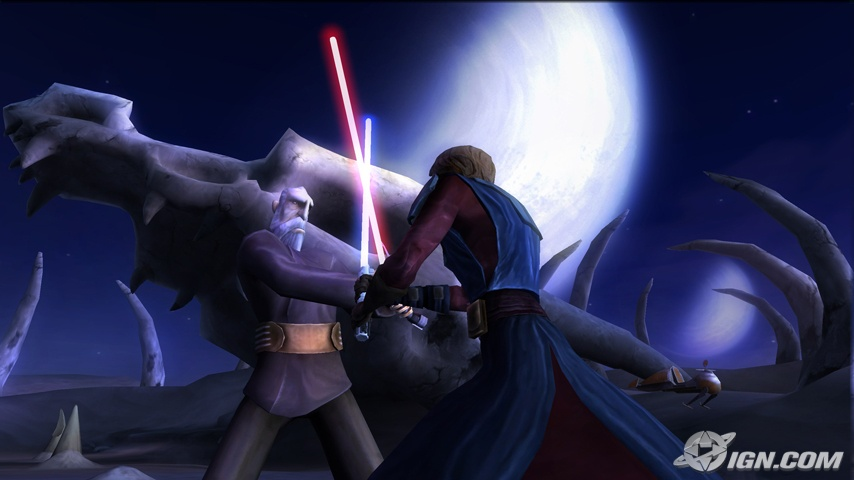 Star Wars The Clone Wars: Lightsaber Duels (Wii) Interview, First Screen
