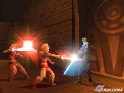 Star Wars The Clone Wars: Jedi Alliance (DS) Interview, First Screen