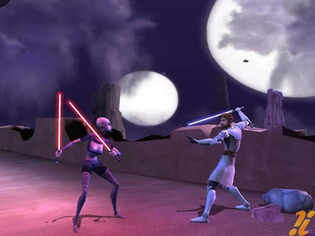 Star Wars: The Clone Wars Wii/DS Screens