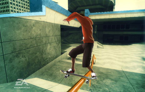 EA Denies Balance Skate-Board Add-on