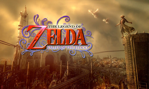 An interesting take on The Legend of Zelda series