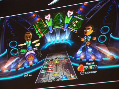 Leipzig 08: Guitar Hero World Tour Wii Gets Mii Freestyle Mode, Air Drums