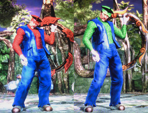 Soulcalibur IV Mario Created Characters