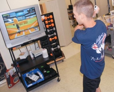 Wounded G.I.s' New Rehab: Wii Sports, Guitar Hero