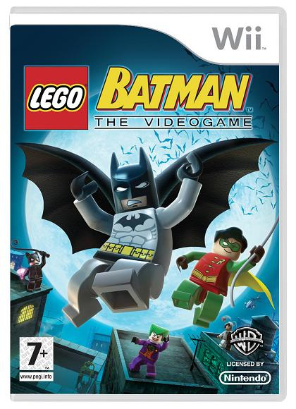 Lego Batman Fact Sheet and Boxart